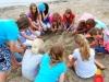 Zandsculpturen bouwen Team Up Events